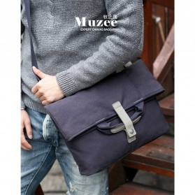 MUZEE Tas Selempang Messenger Bag - ME-1125 (backup) - Black - 5