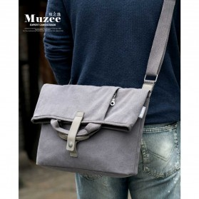 MUZEE Tas Selempang Messenger Bag - ME-1125 (backup) - Black - 6