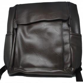 HERALD Tas Ransel Kulit Vintage Leather Backpack - 9367 - Chocolate - 2