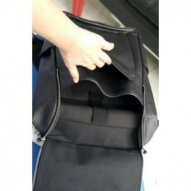 HERALD Tas Ransel Kulit Vintage Leather Backpack - 9367 - Chocolate - 4