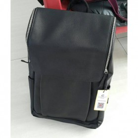 HERALD Tas Ransel Kulit Vintage Leather Backpack - 9367 - Chocolate - 7