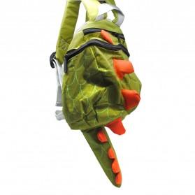 Tas Sekolah Anak Karakter Dinosaurus - Green