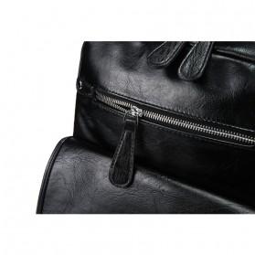 ETONWEAG Tas Ransel Kulit Japan Vintage - 1802B - Black - 8