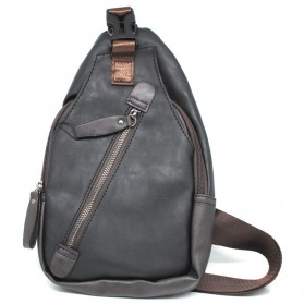 ETONWEAG Tas Selempang Crossbody Messenger Bag - 2061 - Black - 1