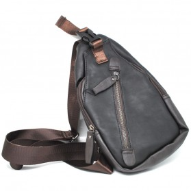 ETONWEAG Tas Selempang Crossbody Messenger Bag - 2061 - Black - 2