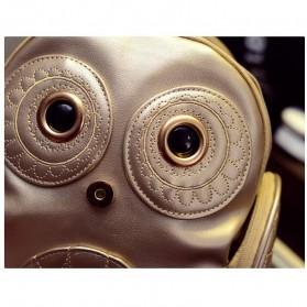 Tas Ransel Kulit Wanita Model Cute Owl - Black - 5