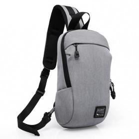 Dxyizu Tas Selempang Urban Style Crossbody Bag - 332 - Gray - 5