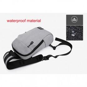 Xyueda Tas Selempang Urban Style Crossbody Bag - 332 - Gray - 6