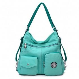 Tas Ransel Tote Bag Wanita - Green