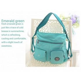 Tas Ransel Tote Bag Wanita - Green - 2