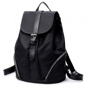 Tas Ransel Wanita Nylon Premium 3 in 1 - Black - 2