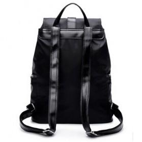 Tas Ransel Wanita Nylon Premium 3 in 1 - Black - 3