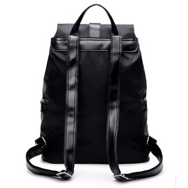 Tas Ransel Wanita Nylon Premium 3 in 1 - Black - 3 . e298430b8e