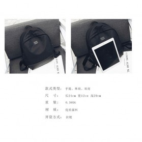 Tas Ransel Gadget Wanita - Black - 7