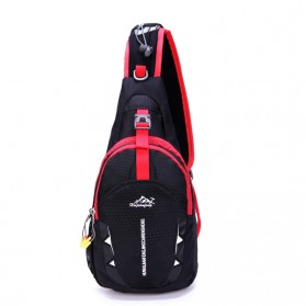 Tas Selempang Sling Bag Sporty - Black