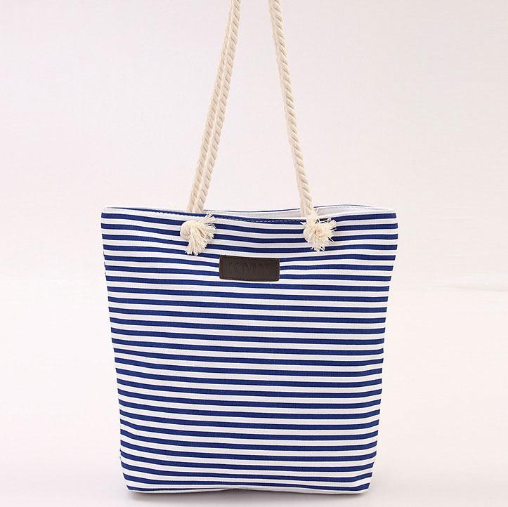 Tas Selempang Kanvas Shoulder Bag Wanita - Blue - JakartaNotebook.com 279d0b52bb