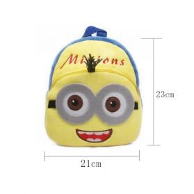 MAOCWEE Tas Sekolah Anak Karakter Kartun Minion - BB008 - Yellow - 3