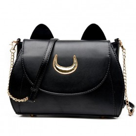 Tas Selempang Wanita Model Sailor Moon - Black