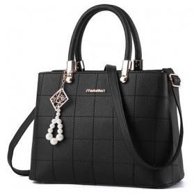 Tas Selempang Wanita Model Pearl - Black