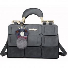 Mei&ge Tas Selempang Handbag Wanita Casual - Black