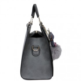 Mei&ge Tas Selempang Handbag Wanita Casual - Black - 3
