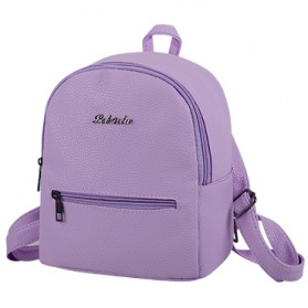 Tas Ransel Wanita Solid - Purple