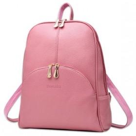 Tas Ransel Wanita Preppy Style - Pink