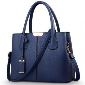 Tas Selempang Wanita Big Bag - Navy Blue