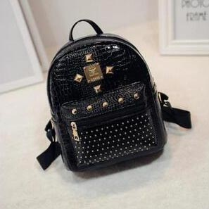 Tas Ransel Wanita Washed Leather - Black - JakartaNotebook.com f562480be4