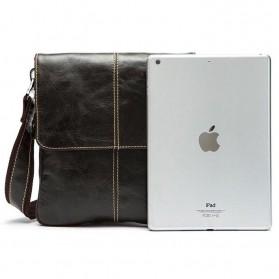Tas Selempang Crossbody Messenger Bag Pria - 8006 - Black - 2