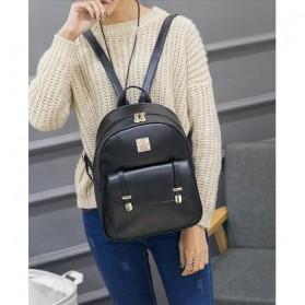 Tas Fashion Wanita Cute 3 in 1 - Black - 3