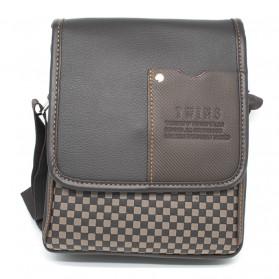 Twins Tas Selempang Bisnis Pria Messenger Bag - Brown - 2
