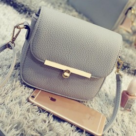 Tas Selempang Korean Retro - Gray