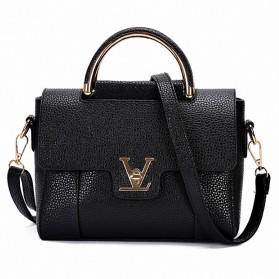 Tas Selempang Wanita V Design - Black
