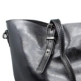Tas Tote Bag Wanita - Black - 4