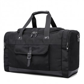 Fashion Travel Duffel Bag Waterproof - Black