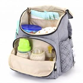 COLORLAND Tas Ransel Ibu Botol Susu Bayi Diapers Mummy Bag - Black - 2