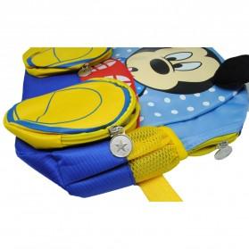 Tas Ransel Anak Model Kartun Mickey dan Minnie Mouse - Blue - 2