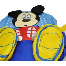 Tas Ransel Anak Model Kartun Mickey dan Minnie Mouse - Blue - 3