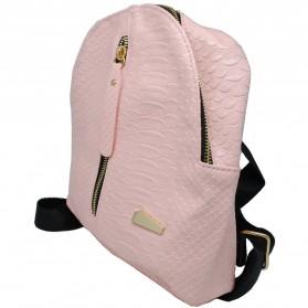 Tas Ransel Mini Korea untuk Wanita - Pink - 2