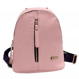 Tas Ransel Mini Korea untuk Wanita - Pink - 3