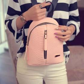Tas Ransel Mini Korea untuk Wanita - Pink - 7