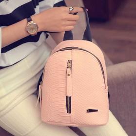 Tas Ransel Mini Korea untuk Wanita - Pink - 9