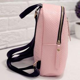 Tas Ransel Mini Korea untuk Wanita - Pink - 10