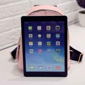 Tas Ransel Mini Korea untuk Wanita - Pink - 11
