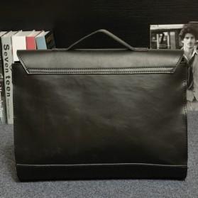 Tas Selempang Pria Vintage Messenger Bag - Black - 3
