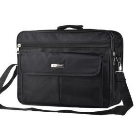 Tas Jinjing Laptop Kantor Pria 17 inch - 6612 - Black