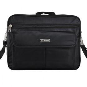 Tas Jinjing Laptop Kantor Pria 17 inch - 6612 - Black - 3