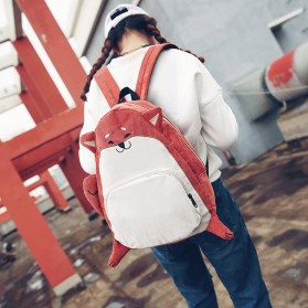 Tas Ransel Anak Model Fox - Red