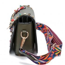 Tas Selempang Wanita Luxury Handbag - SABED1866 - Black - 3